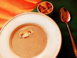 Крем-суп грибний