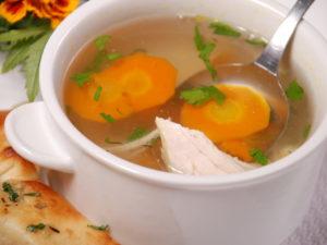 Суп курячий